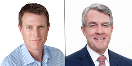Christian Porter and Mark Dreyfus (Supplied)