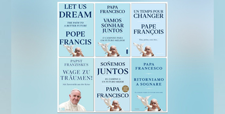 Pope Francis' new book will be released on December 1 (Vatican Media)