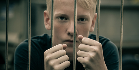 Each year about 600 children aged between the ages of 10 and 14 are incarcerated in Australia.(Bigstock)